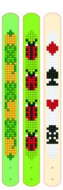 Diamond Dotz Dotzies 3 Bracelets Multi Pack - Lucky Lucky - Needleart World    nw-dtz11-004