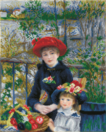 Diamond Dotz Two Sisters on the Terrace ((après Renoir) - Needleart World    nw-dd10-039