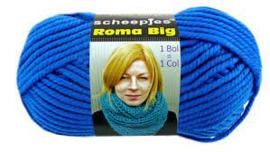 Scheepjes Roma Big 027 / Blauw