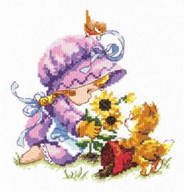 Borduurpakket Gardeners - Chudo Igla (Magic Needle)    ci-033-015