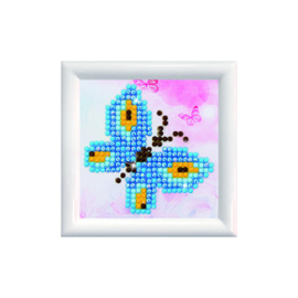 Diamond Dotz Butterfly Sparkle DD Kit with Frame - Needleart World    nw-dds-002f