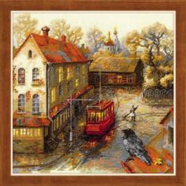 Borduurpakket Warm Autumn - RIOLIS    ri-1676