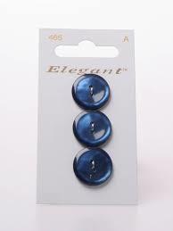 Knopen Elegant - Blauw / 465