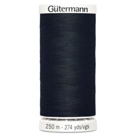 Gutermann naaigaren 250 meter - 000 Zwart
