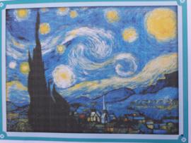Cross Stitch / The Starry Night of Van Gogh
