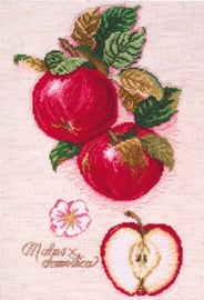 Borduurpakket Apples - Janlynn    jan-018-0114