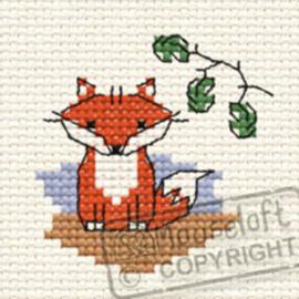 Borduurpakket Ferdinand Fox in the Woods - Mouseloft    ml-00f-001