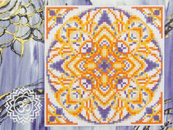 Diamond Painting Sahasrara - Freyja Crystal    fc-alvr-002-048