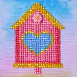 Diamond Dotz Home Sweet Home - Needleart World    nw-dd01-002