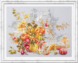 Borduurpakket Autumn Improvisation - Chudo Igla    ci-120-012