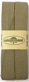 Oaki Doki Tricot de Luxe  / Jersey Biaisband / Khaki 027