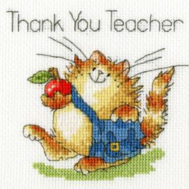 Borduurpakket Margaret Sherry - An Apple For Teacher - Bothy Threads    bt-xgc13