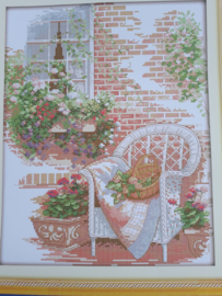 Cross Stitch / Outside the house