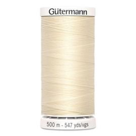Gütermann /  500 meter / 414 / Ecru
