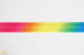 Regenboog Biaisband / 12 mm