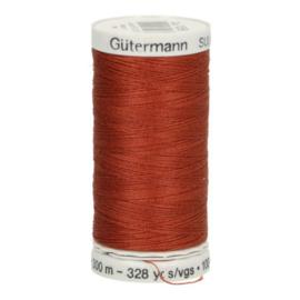 Gutermann naaigaren cotton 30 / 300 meter  1058 / licht bruin