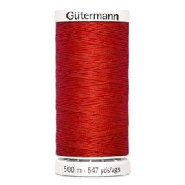 Gütermann /  500 meter / 364 /  Licht Rood