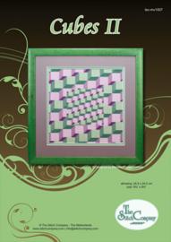 Borduurpakket Cubes II - The Stitch Company    tsck-mv1007