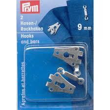 Prym Broek en Rokhaken Zilverkleurig 9 mm 265 227