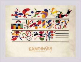 Borduurpakket Succession after W. Kandinsky's composition - RIOLIS    ri-pt0080