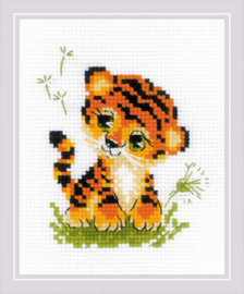 Borduurpakket Baby Tiger - RIOLIS  ri-1995