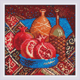 Diamond Mosaic Pomegranates - RIOLIS    ri-am0033