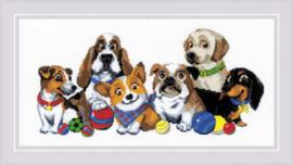 Borduurpakket Dog Show - RIOLIS   ri-1923