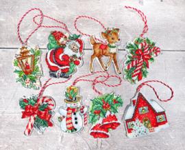 Borduurpakket Christmas Toys Kit nr.1 - Leti Stitch    leti-0966