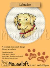 Borduurpakket Labrador - Mouseloft    ml-00g-006