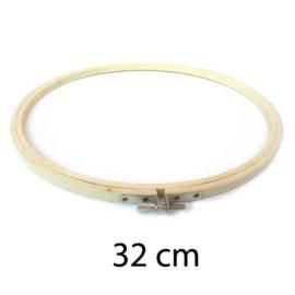 Borduurring hout / 32 cm