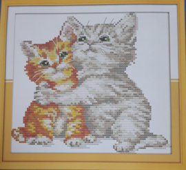 Cross Stitch / Love each other