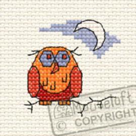 Borduurpakket Old Ollie Owl in the Woods - Mouseloft    ml-00f-008
