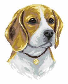 Diamond Painting Beagle - Freyja Crystal    fc-alvr-141