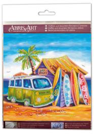 Kralen borduurpakket Surfing - Abris Art    aa-am-197