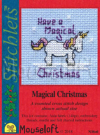 Borduurpakket Magical Christmas - Mouseloft    ml-004-n38