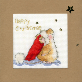 Borduurpakket Christmas Cards - Star Gazing - Bothy Threads    bt-xmas20