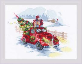 Borduurpakket To the Holidays  - RIOLIS    ri-1906