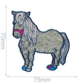HKM Mode Applic. Pony grijs