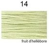 Dmc Mouliné Special / nieuwe kleur / Fruit d'Hellébore / 14