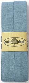 Oaki Doki Tricot de Luxe  / Jersey Biaisband / Licht Blauw 003