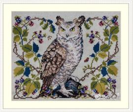 Borduurpakket The Owl - Merejka    mer-k148