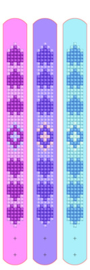 Diamond Dotz Dotzies 3 Bracelets Multi Pack - Love - Needleart World    nw-dtz11-006