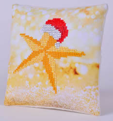 Diamond Dotz Christmas Star Kussentje - Needleart World    nw-ddp02-035