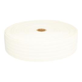 Bandelastiek van zachte kwaliteit / Wit / 50 mm breed