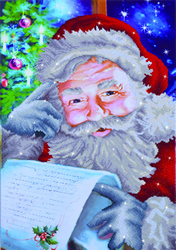 Diamond Dotz Santa's Wish List - Needleart World    nw-dd12-024