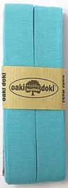 Oaki Doki Tricot de Luxe  / Jersey Biaisband / Aqua 104