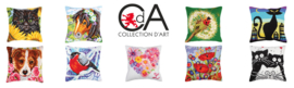 - COLLECTION D'ART (kussens)