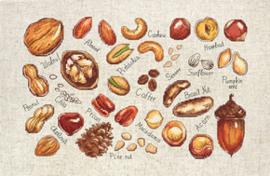 Borduurpakket Nuts & Seeds - Luca-S    ls-b1165