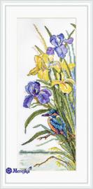 Borduurpakket Kingfisher - Merejka    mer-k134