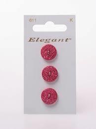 Knopen Elegant - Roze / 611